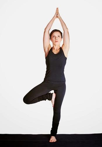 vrikshasana yoga pose