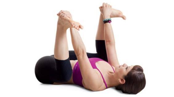 baby yoga pose