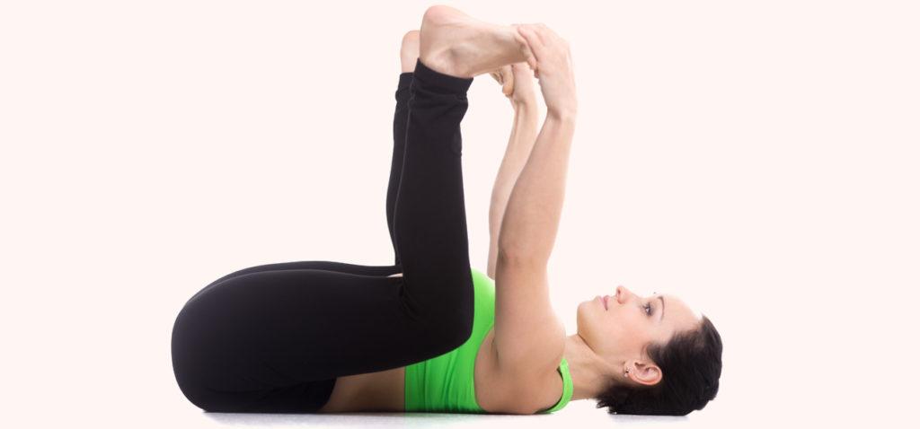 Ananda Balasana Yoga Pose